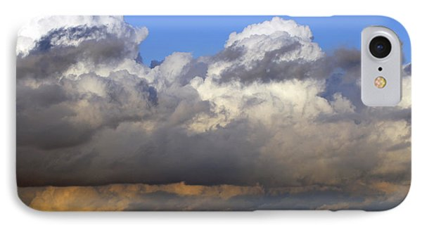 Clouds Over Portsmouth IPhone Case by Tony Murtagh
