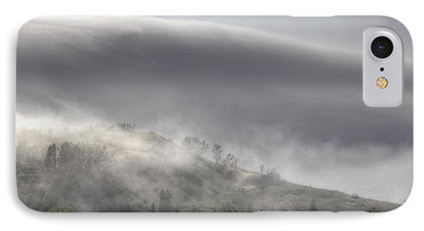 IPhone Case featuring the photograph Clouds Over Sleeping Bear Dunes 1 by Trey Foerster