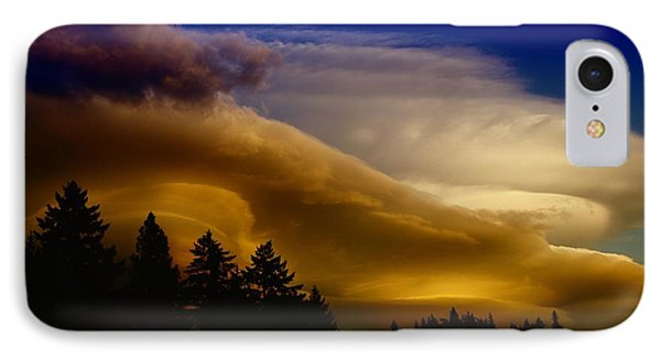 Clouds Over Southern Alberta Phone Case by Jeff Swan