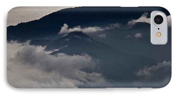 Clouds Over The Mounatins IPhone Case by Brian Magnier