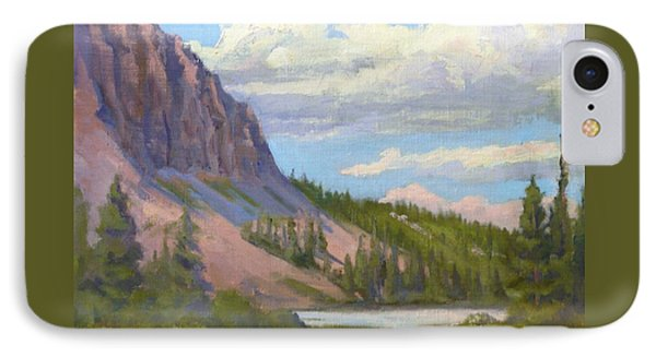 Clouds Over The Twin Lakes IPhone Case