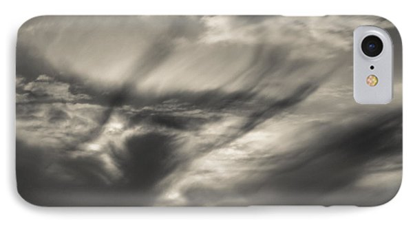 Clouds Over Tod Head IPhone Case by Dave Bowman