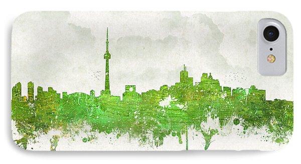 Clouds Over Toronto Canada IPhone Case by Aged Pixel