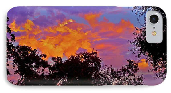 IPhone Case featuring the photograph Clouds by Pamela Cooper