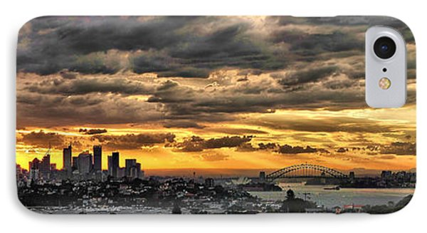 Clouds Rose Over The City Phone Case by Andrei SKY