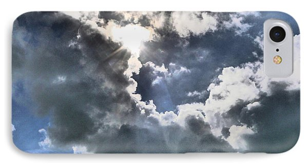 IPhone Case featuring the photograph Clouds by Winifred Butler