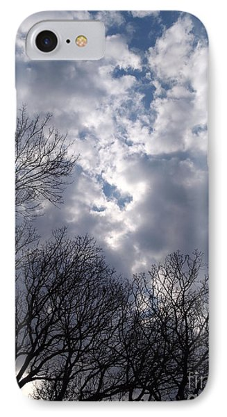 IPhone Case featuring the photograph Cloudscape by Nancy Kane Chapman