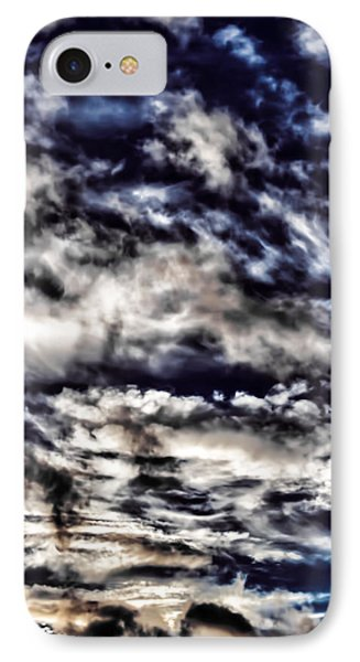 IPhone Case featuring the photograph Cloudstract by David Stine