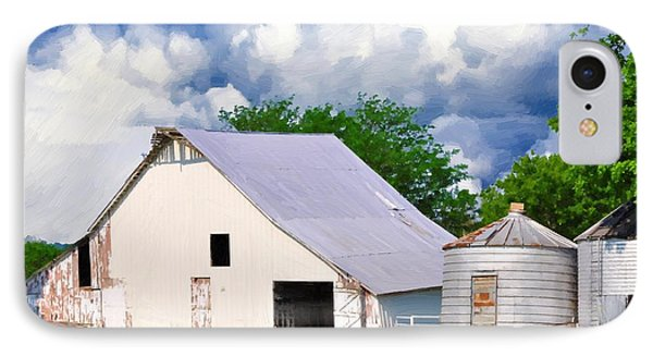 Cloudy Day In The Country Phone Case by Liane Wright