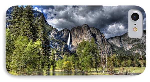Cloudy Day In Yosemite IPhone Case by Shawn Everhart