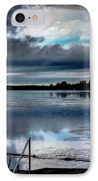 IPhone Case featuring the photograph Cloudy by Michaela Preston