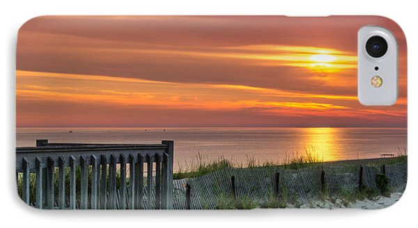 IPhone Case featuring the photograph Sandy Neck Beach Sunrise by Mike Ste Marie