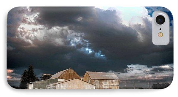 Cloudy Sky IPhone Case by Michaela Preston