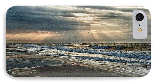 Cloudy Sunrise Phone Case by Michael Thomas