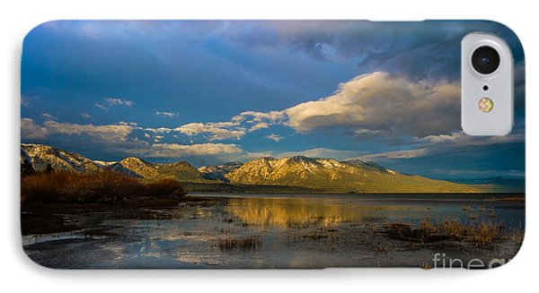 Cloudy Sunrise Phone Case by Mitch Shindelbower