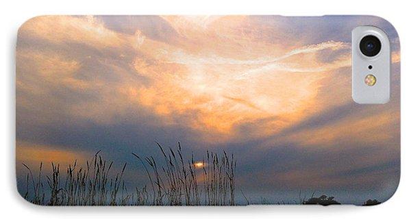 Cloudy Sunrise IPhone Case by Rita Mueller