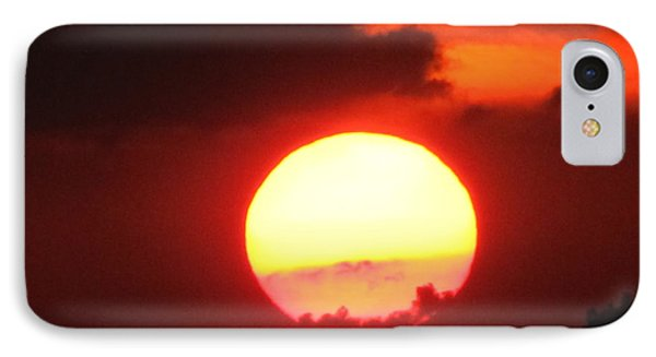 Cloudy Sunset 21 May 2013 IPhone Case by Tina M Wenger