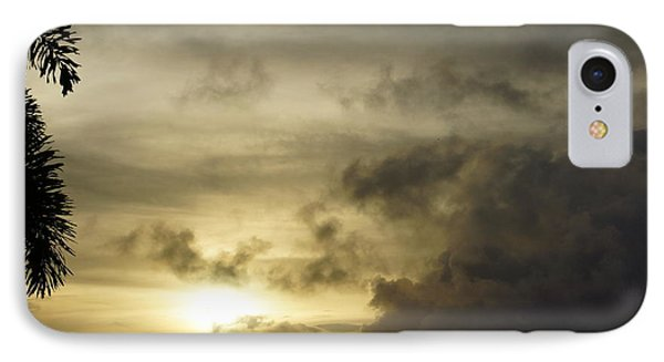 IPhone Case featuring the photograph Cloudy Sunset Photo by Epic Luis Art