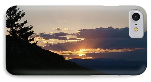 IPhone Case featuring the photograph Cloudy Sunset by Jenessa Rahn