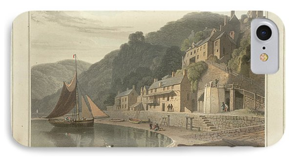 Clovelly Fishing Village And Port IPhone Case