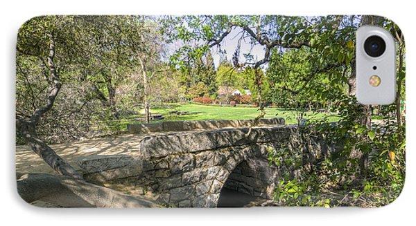 Clover Valley Park Bridge IPhone Case