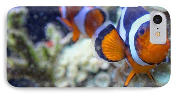Clown Fish Couple IPhone Case
