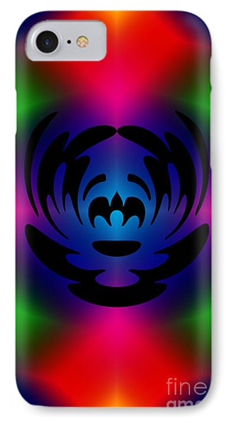 Clown In Color Phone Case by Steve Purnell