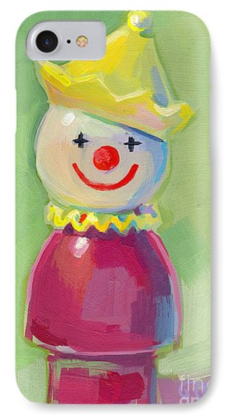 Clown IPhone Case by Kimberly Santini