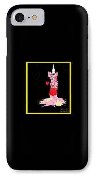 Clown Love IPhone Case