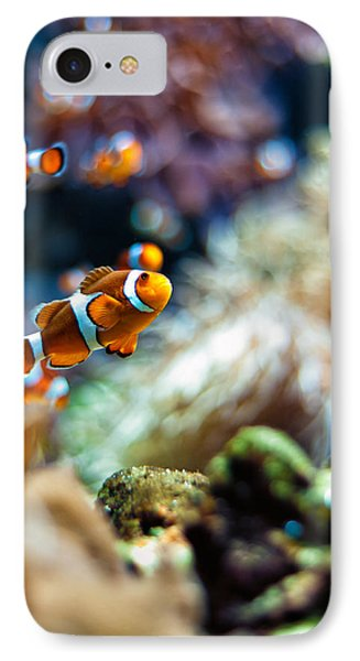 Clownfish  IPhone Case by Ulrich Schade