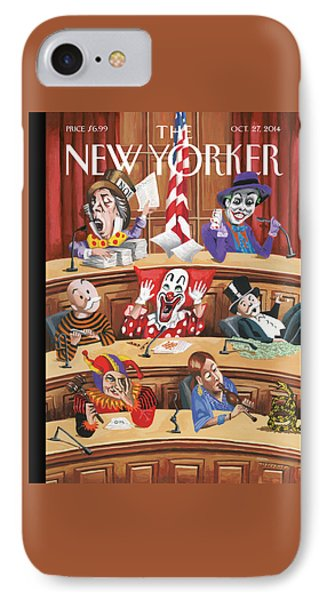 Clowns, Fools And Jokers Preside Over Congress IPhone Case