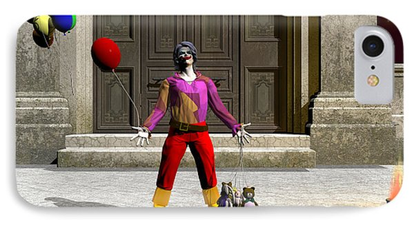 Clowns IPhone Case