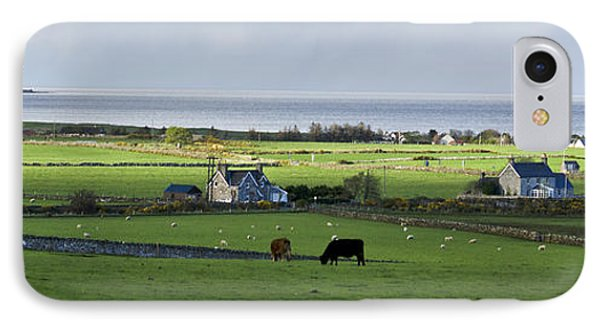 IPhone Case featuring the photograph Clyneview Panorama Scotland by Sally Ross