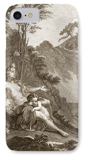 Clytia Turned Into A Turnesole, 1731 IPhone Case