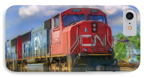 Cn 5707 IPhone Case by Ken Morris