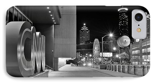 Cnn Atlanta Headquarters IPhone Case by Frozen in Time Fine Art Photography