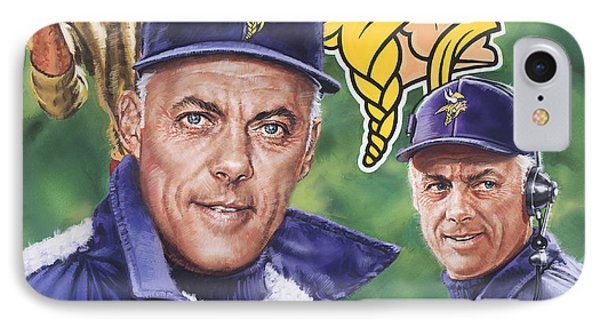 Coach Bud Grant IPhone Case
