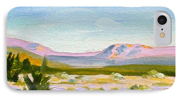 IPhone Case featuring the painting Coachella Valley by Dan Redmon