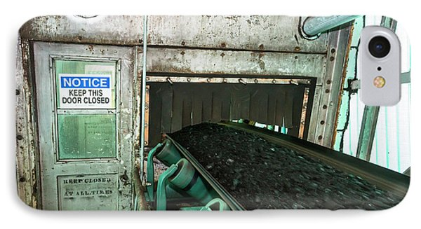 Coal-fired Power Station Conveyor IPhone Case by Jim West