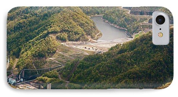 Coal Sludge Dam IPhone Case by Jim West