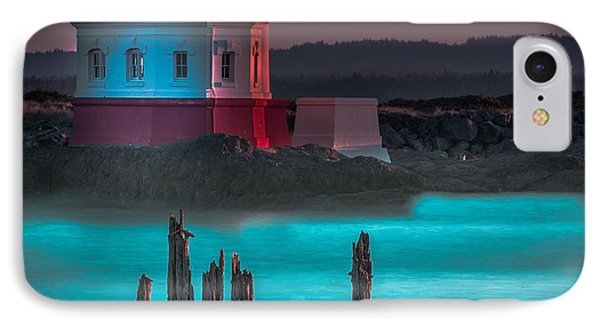 Coaquille Lighthouse IPhone Case by Tim Bryan