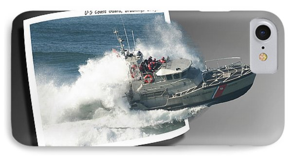 Coast Guard IPhone Case by Betty Depee