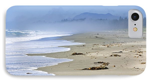 Coast Of Pacific Ocean In Canada Phone Case by Elena Elisseeva