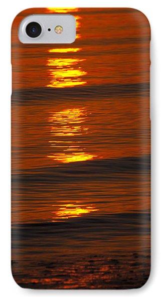 Coastal Abstract Phone Case by Karol Livote