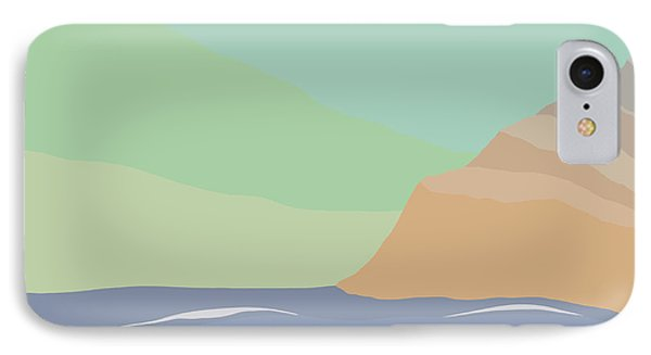 Coastal Bank IPhone Case by Henry Manning