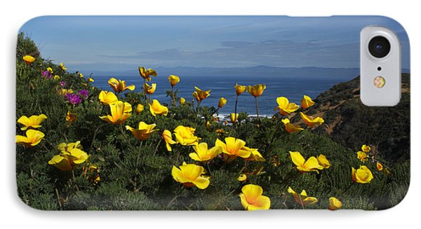 IPhone Case featuring the photograph Coastal California Poppies by Susan Rovira