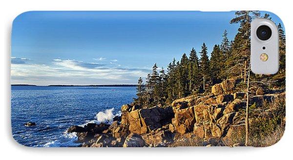 Coastal Maine Landscape. Phone Case by John Greim