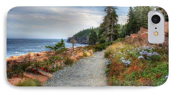 Coastal Meandering IPhone Case by Lori Deiter