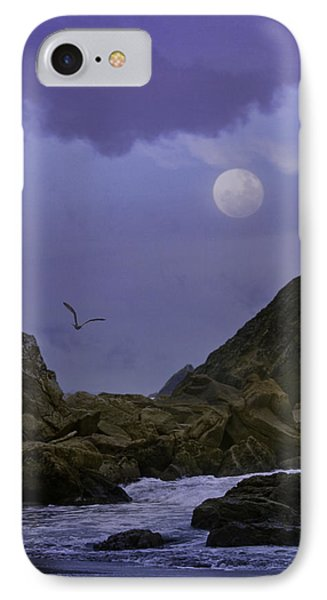 Coastal Moods Moonglo IPhone Case by Diane Schuster