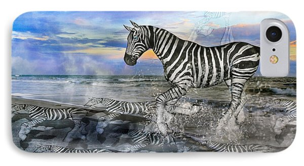 Coastal Stripes I Phone Case by Betsy Knapp